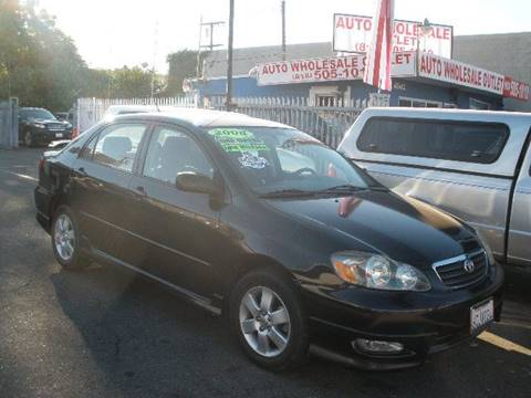 2008 Toyota Corolla for sale at Auto Wholesale Outlet in North Hollywood CA