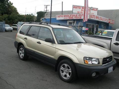 2003 Subaru Forester for sale at Auto Wholesale Outlet in North Hollywood CA