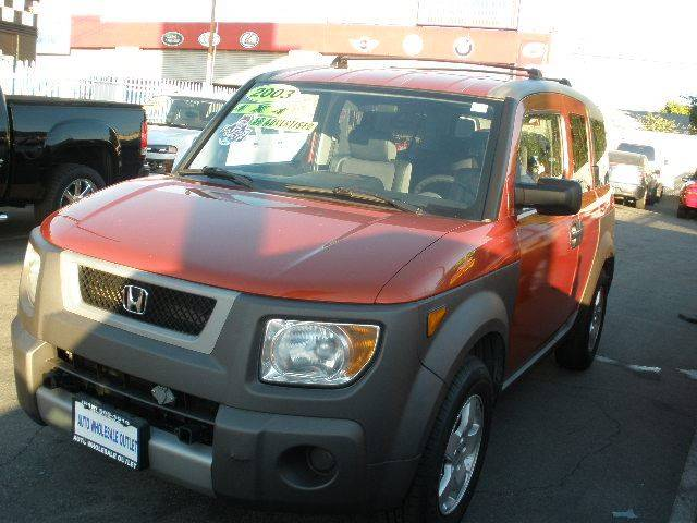 2003 Honda Element for sale at Auto Wholesale Outlet in North Hollywood CA
