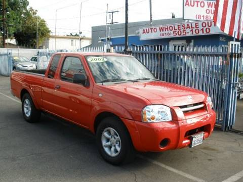 2002 Nissan Frontier for sale at Auto Wholesale Outlet in North Hollywood CA