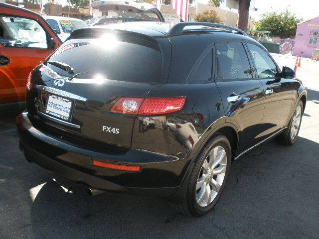 2003 Infiniti FX45 for sale at Auto Wholesale Outlet in North Hollywood CA