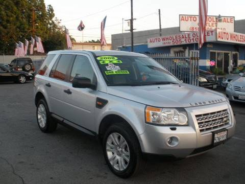 2008 Land Rover LR2 for sale at Auto Wholesale Outlet in North Hollywood CA