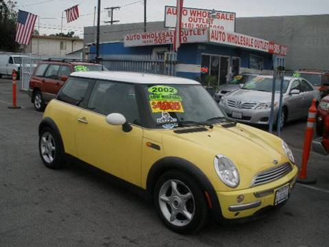 2002 MINI Cooper for sale at Auto Wholesale Outlet in North Hollywood CA