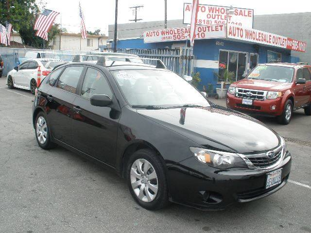 2008 Subaru Impreza for sale at Auto Wholesale Outlet in North Hollywood CA