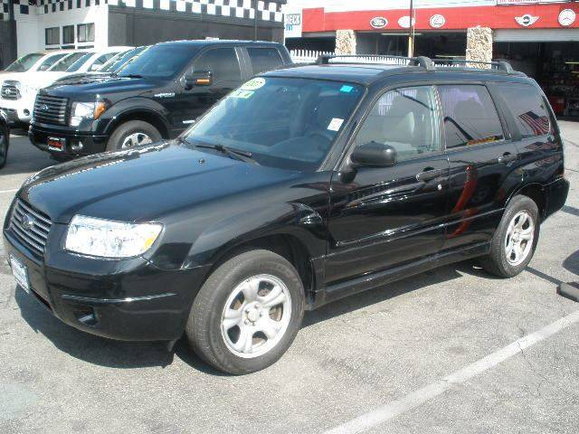 2007 Subaru Forester for sale at Auto Wholesale Outlet in North Hollywood CA