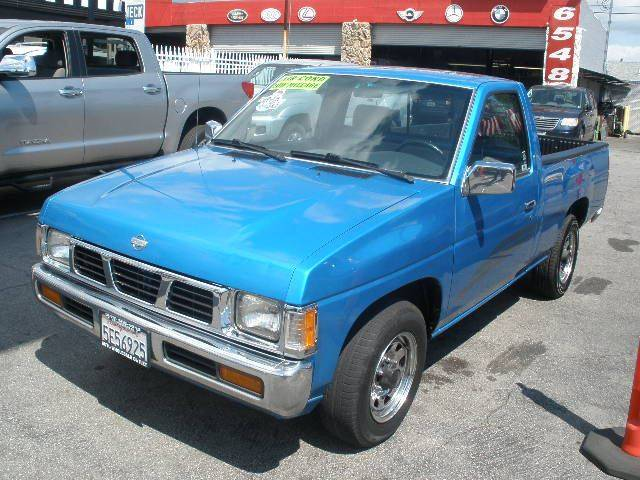 1995 Nissan Truck for sale at Auto Wholesale Outlet in North Hollywood CA