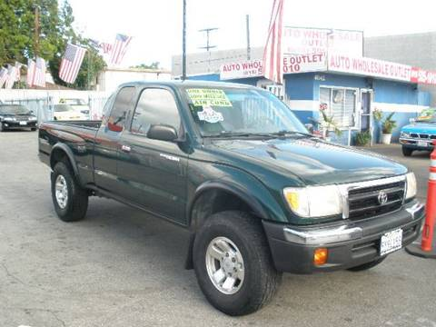 1999 Toyota Tacoma for sale at Auto Wholesale Outlet in North Hollywood CA