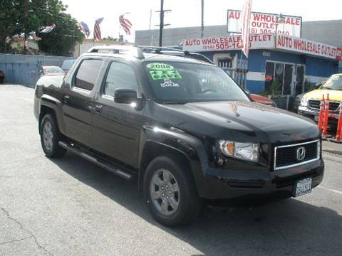 2008 Honda Ridgeline for sale at Auto Wholesale Outlet in North Hollywood CA