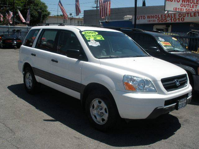 Perfect 2005 Honda Pilot For Sale At Auto Wholesale Outlet In North Hollywood CA