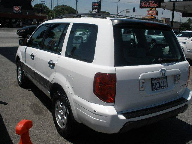 2005 Honda Pilot for sale at Auto Wholesale Outlet in North Hollywood CA