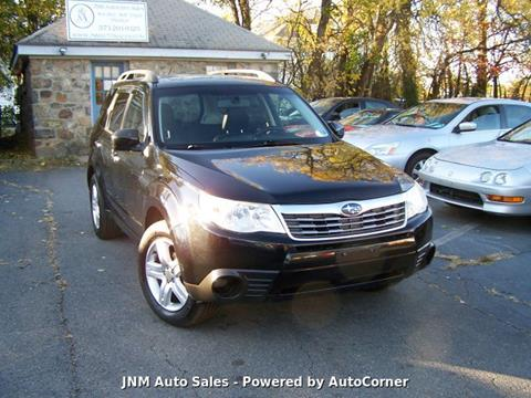 2010 Subaru Forester 2.5X Limited for sale at JNM AUTOMOTIVE SALES in Leesburg VA