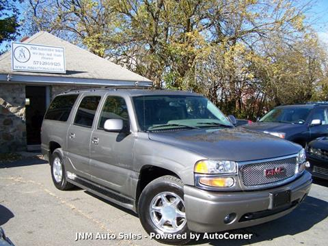 2006 GMC Yukon XL Denali for sale at JNM AUTOMOTIVE SALES in Leesburg VA