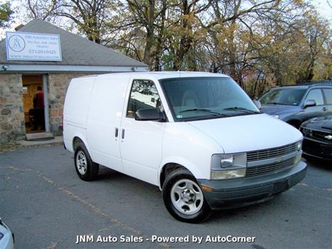 2005 Chevrolet Astro Cargo for sale at JNM AUTOMOTIVE SALES in Leesburg VA