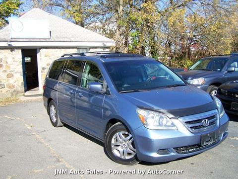 2005 Honda Odyssey for sale at JNM AUTOMOTIVE SALES in Leesburg VA