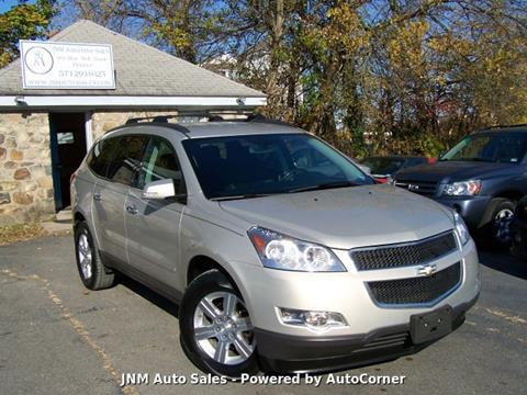 2012 Chevrolet Traverse LT for sale at JNM AUTOMOTIVE SALES in Leesburg VA