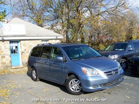 2007 Honda Odyssey EX-L for sale at JNM AUTOMOTIVE SALES in Leesburg VA