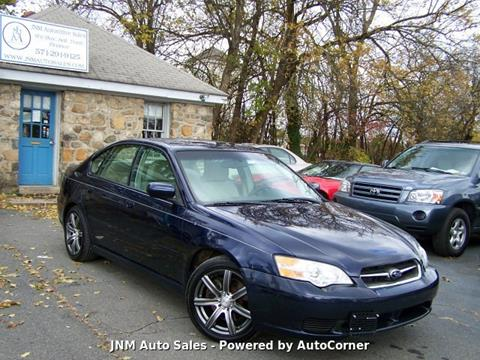 2006 Subaru Legacy for sale at JNM AUTOMOTIVE SALES in Leesburg VA