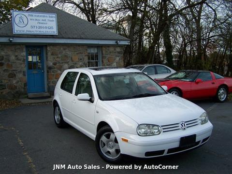 2002 Volkswagen Golf GLS TDI for sale at JNM AUTOMOTIVE SALES in Leesburg VA