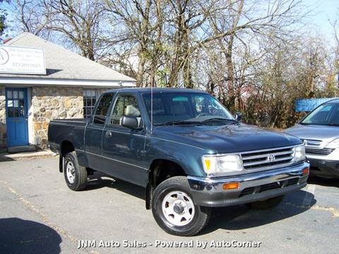 1996 Toyota T100 DX for sale at JNM AUTOMOTIVE SALES in Leesburg VA