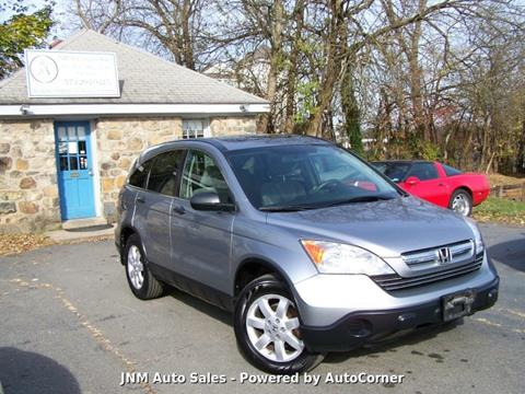 2008 Honda CR-V EX for sale at JNM AUTOMOTIVE SALES in Leesburg VA