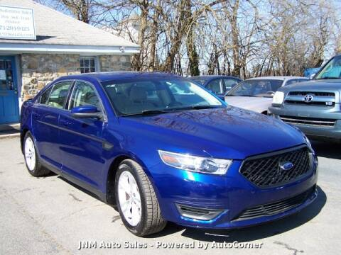 2014 Ford Taurus SEL for sale at JNM AUTOMOTIVE SALES in Leesburg VA