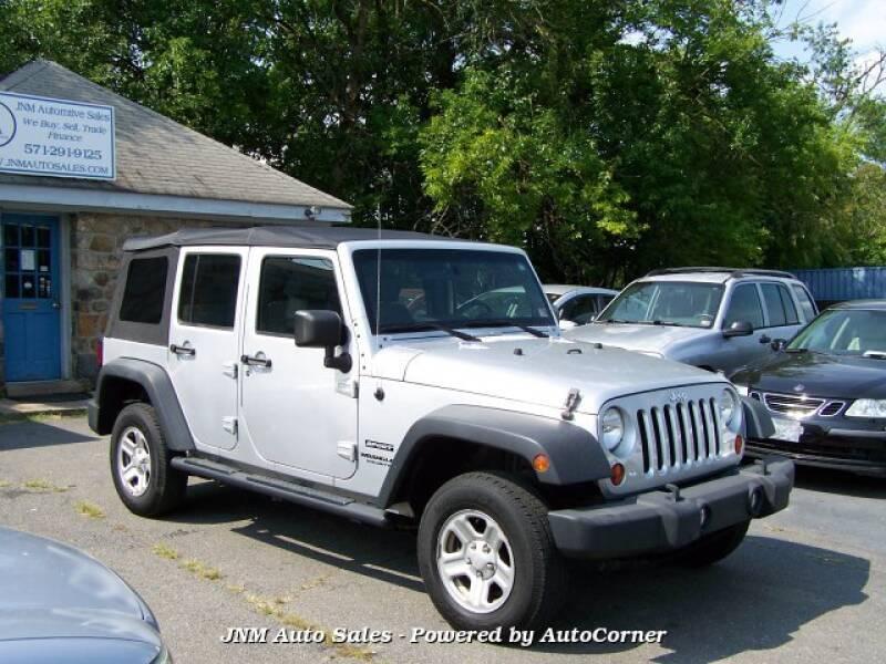 2010 Jeep Wrangler Unlimited 4x4 Sport 4dr SUV - Leesburg VA
