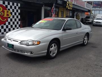 2001 Chevrolet Monte Carlo for sale in Dallas, TX