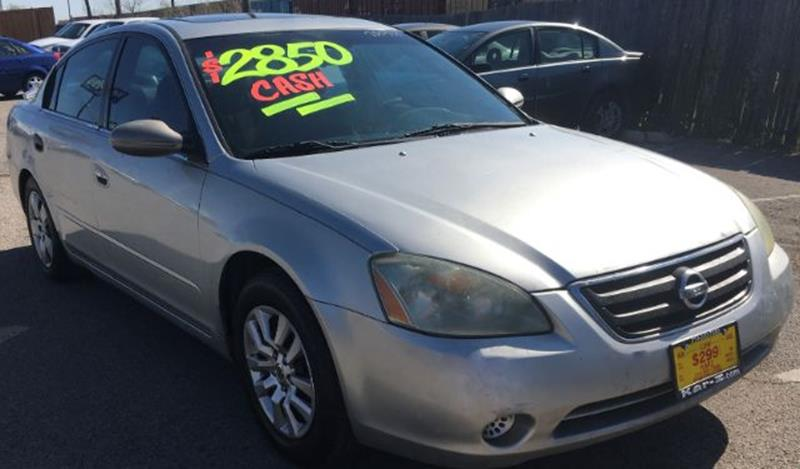 2002 Nissan Altima 2.5 S 4dr Sedan   Dallas TX