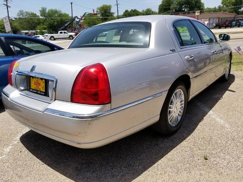 2009 Lincoln Town Car Signature Limited 4dr Sedan In Dallas Tx Www
