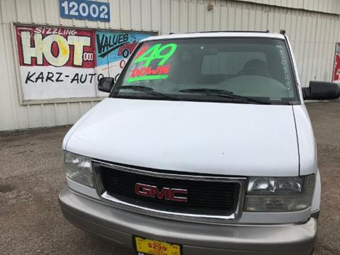 2002 GMC Safari for sale in Dallas, TX