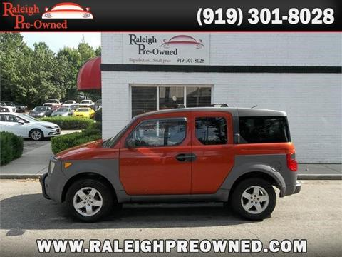 2004 Honda Element For Sale In Raleigh, NC