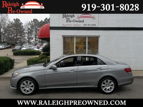 2014 Mercedes-Benz E-Class for sale in Raleigh, NC