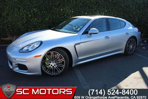 2016 Porsche Panamera for sale in Placentia, CA