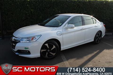 2014 Honda Accord Plug-In for sale in Placentia, CA