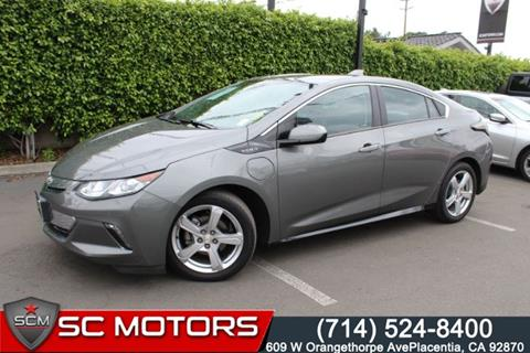 2017 Chevrolet Volt for sale in Placentia, CA