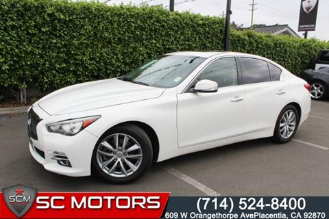 Q50 For Sale >> 2015 Infiniti Q50 For Sale In Placentia Ca