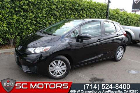 2016 Honda Fit for sale in Placentia, CA