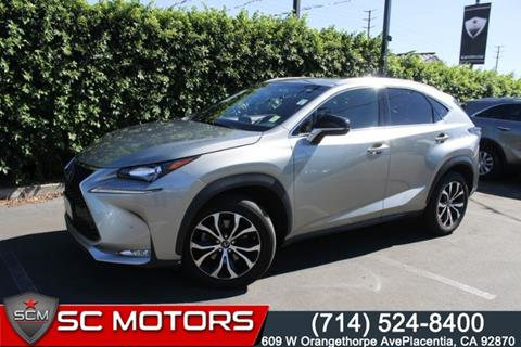 2017 Lexus NX 200t for sale in Placentia, CA