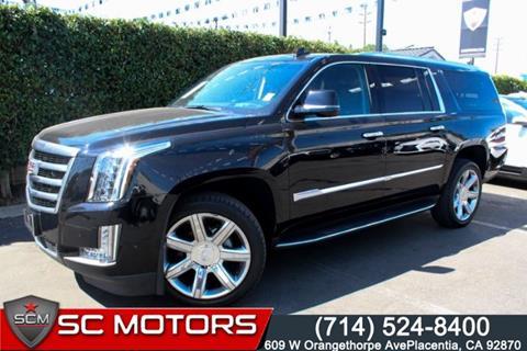 2018 Cadillac Escalade ESV for sale in Placentia, CA