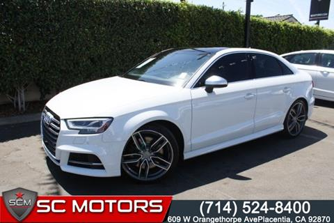 2017 Audi S3 For Sale In Placentia Ca