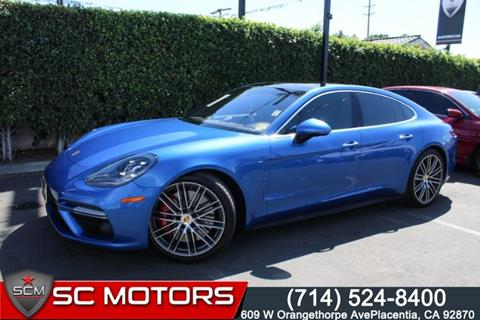 2017 Porsche Panamera for sale in Placentia, CA