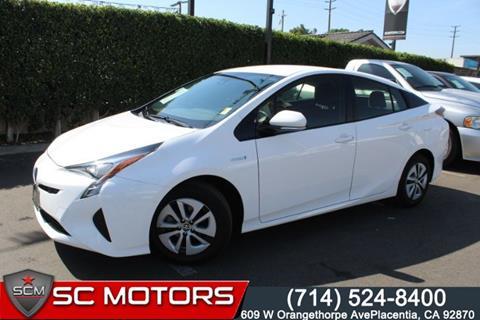 2018 Toyota Prius for sale in Placentia, CA