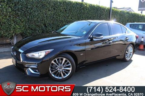 2018 Infiniti Q50 for sale in Placentia, CA