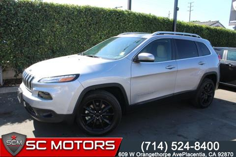 2018 Jeep Cherokee for sale in Placentia, CA
