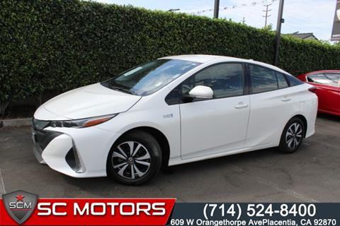 2017 Toyota Prius Prime for sale in Placentia, CA