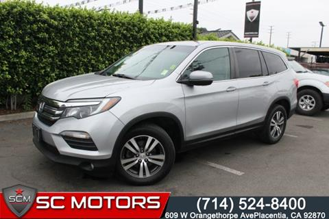 2016 Honda Pilot for sale in Placentia, CA