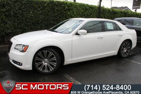 2013 Chrysler 300 For Sale >> 2013 Chrysler 300 For Sale In Placentia Ca
