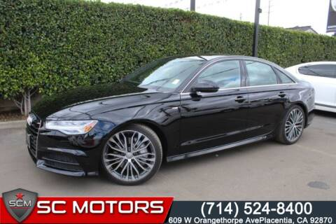 2017 Audi A6 2.0T quattro Premium Plus for sale at SC Motors in Placentia CA