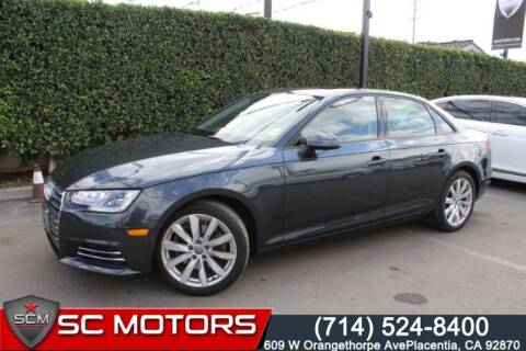 2017 Audi A4 2.0T ultra Premium for sale at SC Motors in Placentia CA