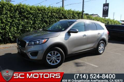 2017 Kia Sorento for sale at SC Motors in Placentia CA